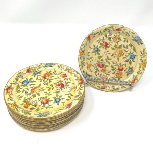 Floral Paper Mache Coasters