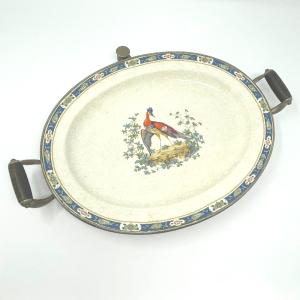 Ironstone Warming Platter