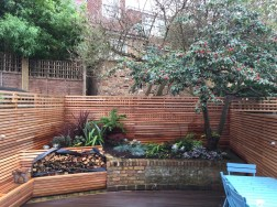 garden design in highbury, london