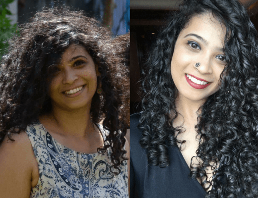 Transition From Frizzy Rough Hair to Soft, Frizz free Curls