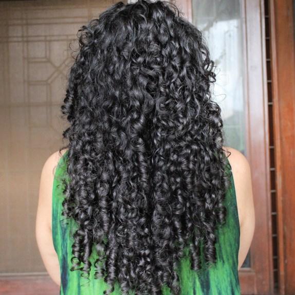 Denman brush for curly hair