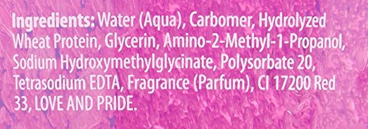 ecostyler gel ingredients