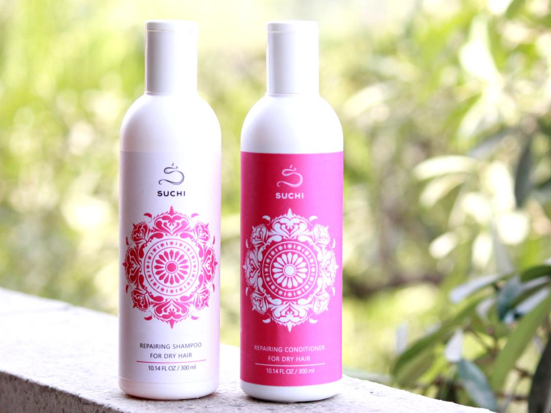 Suchi Hydrating Buttermilk & Rose Shampoo & Conditioner