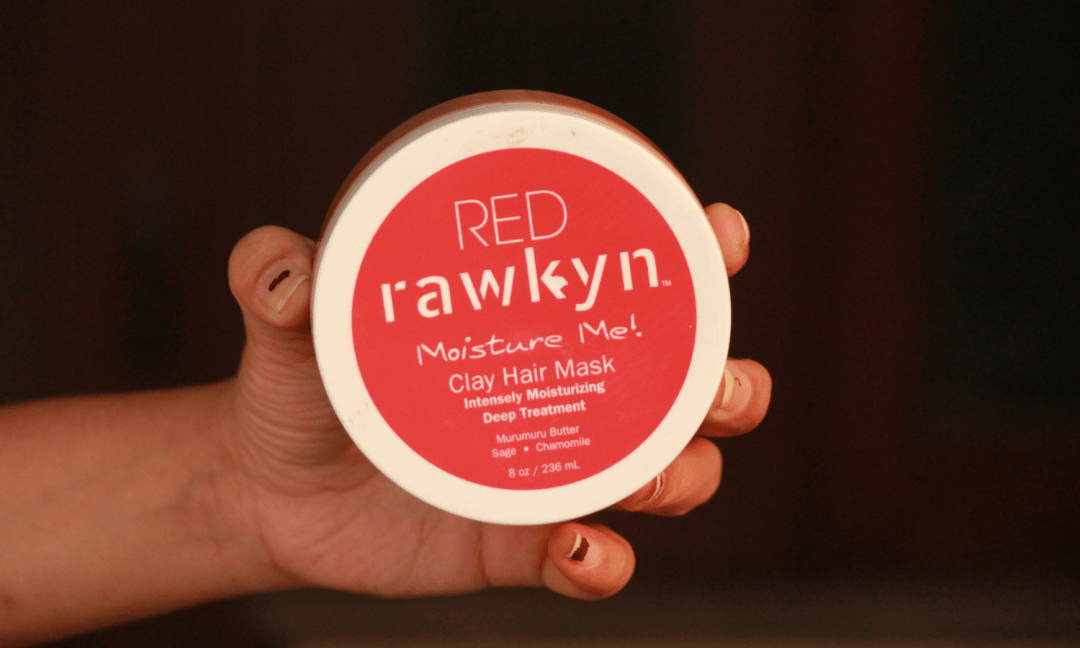 Rawkyn Red Clay Hair Mask
