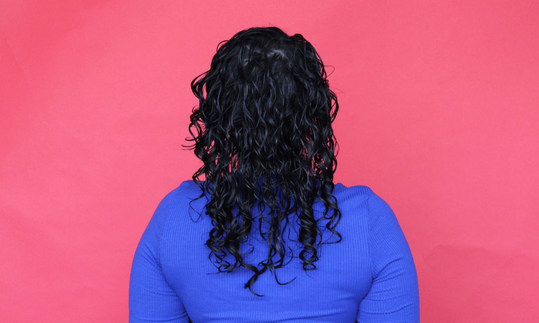 Curl Mix Results Back View