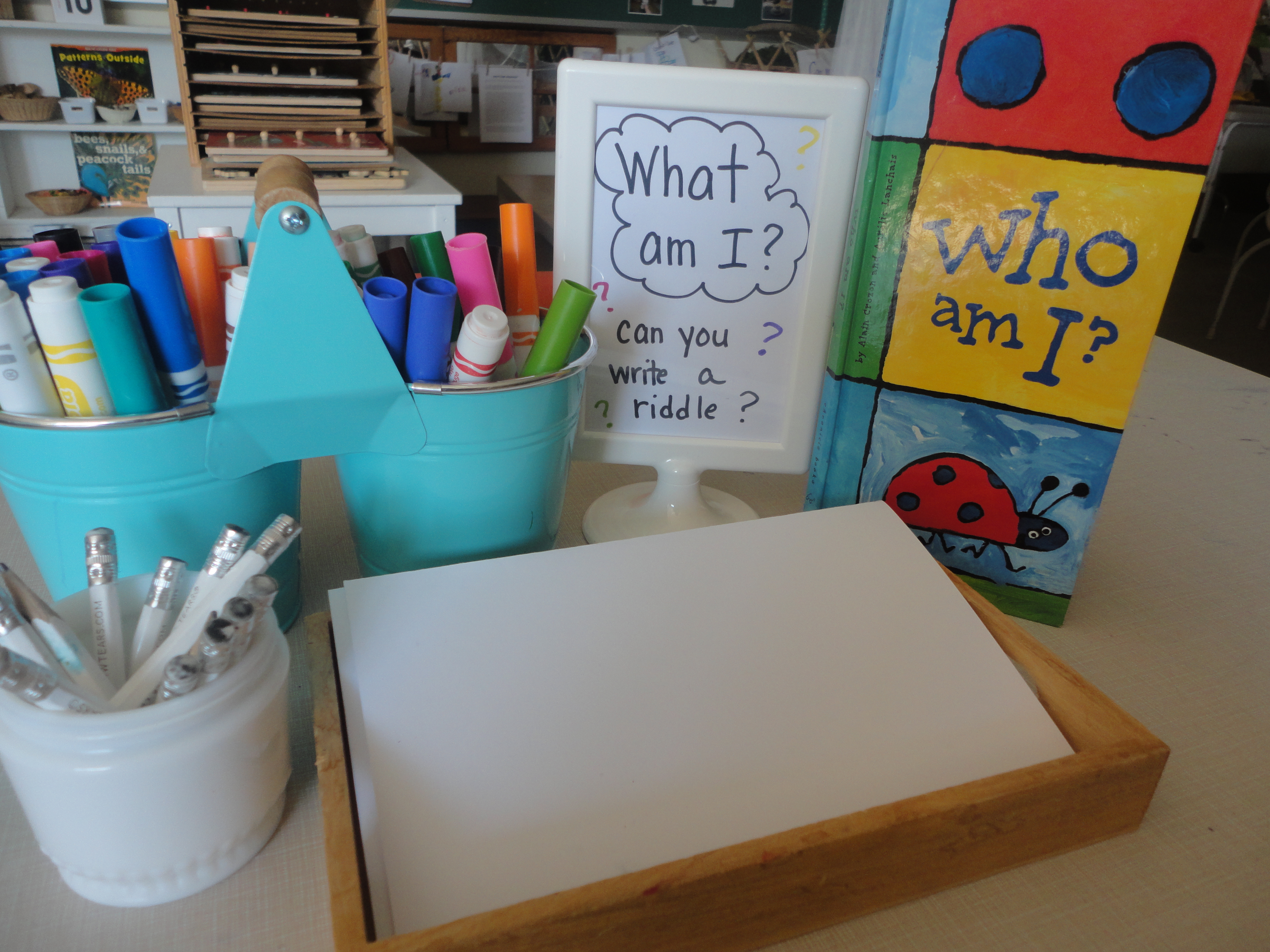 Writing Centre Activities