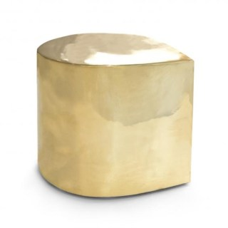 Brass Teardrop Side Table, Jonathan Adler.