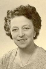Daisy Evelyn Pearson nee Keevill c 1957