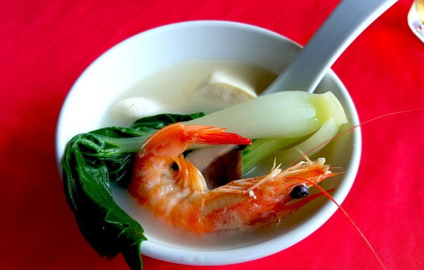 Mixed Seafood Soup, Rainbow Restaurant, Lamma Island, Hong Kong