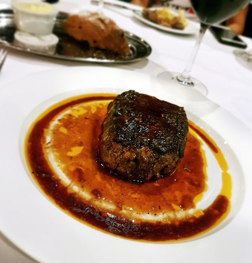 Filet Mignon, Chops Grille, Mariner of the Seas