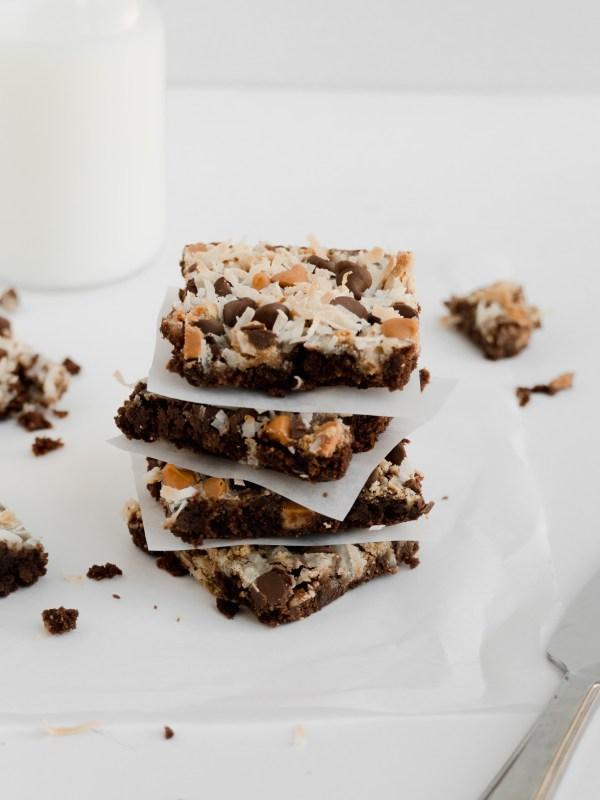 magic brownie bars