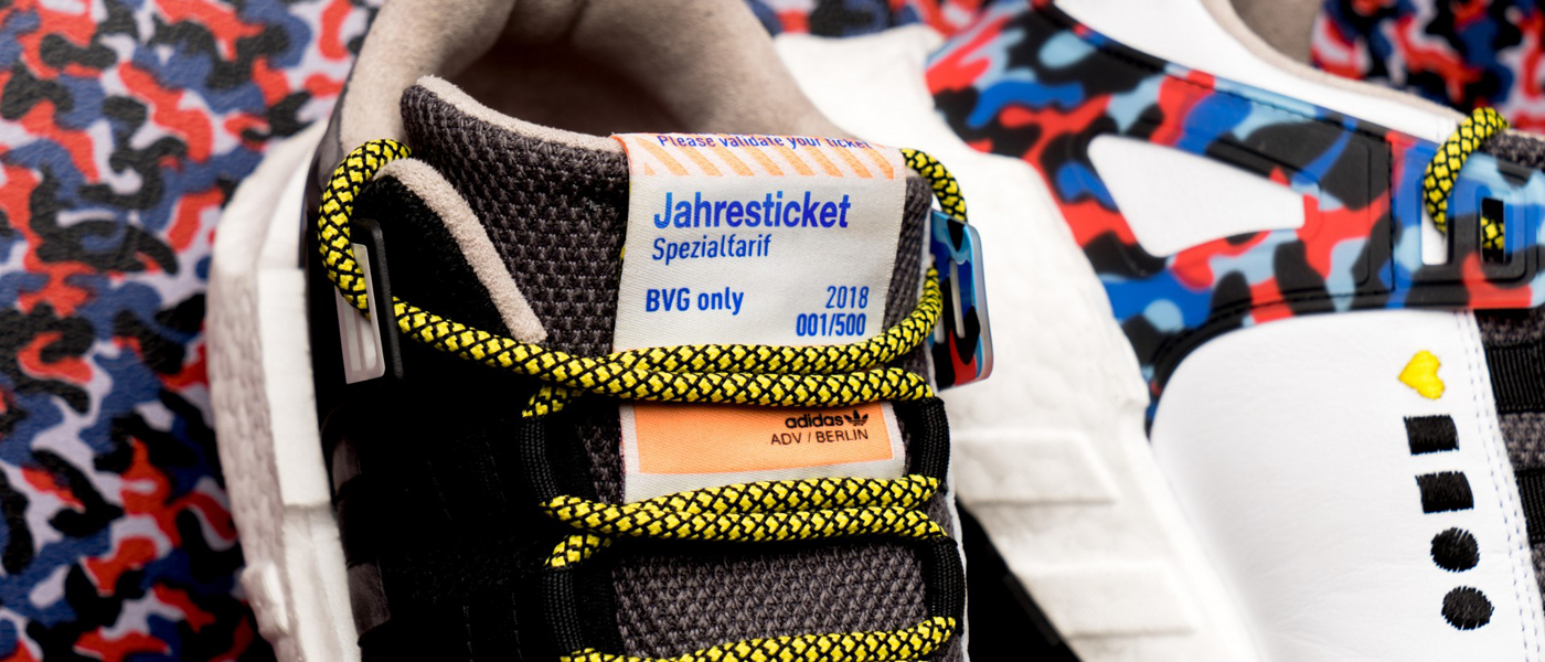 These Adidas sneakers double as subway passes in Berlin