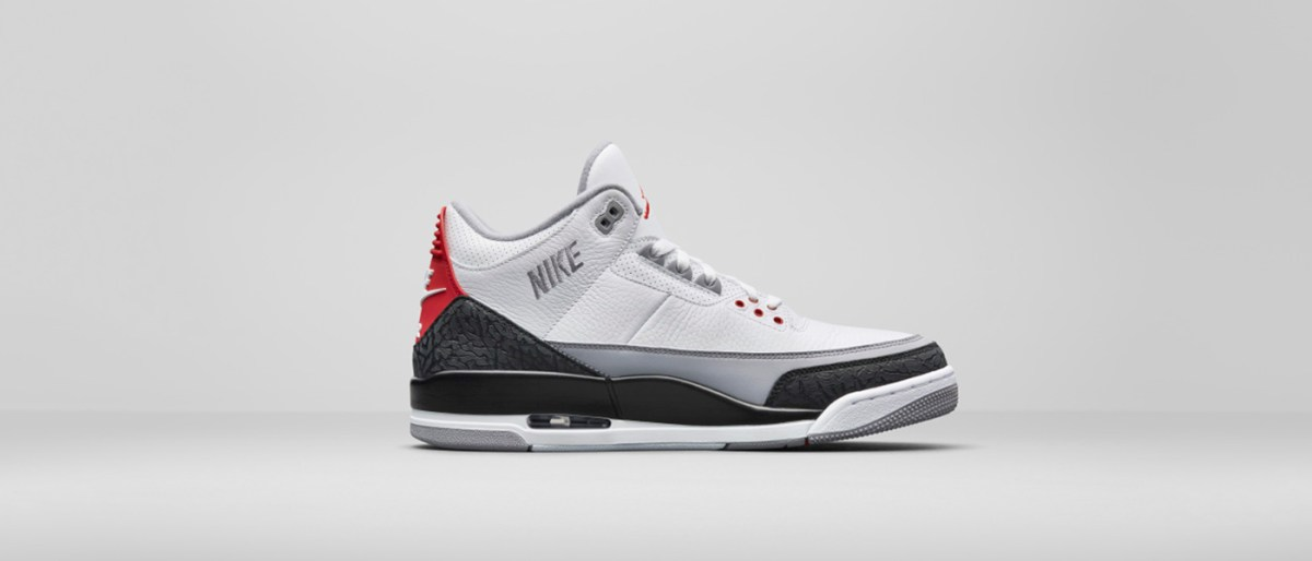 "The Nike Air Jordan III ""Tinker"" sold out on Snapchat"