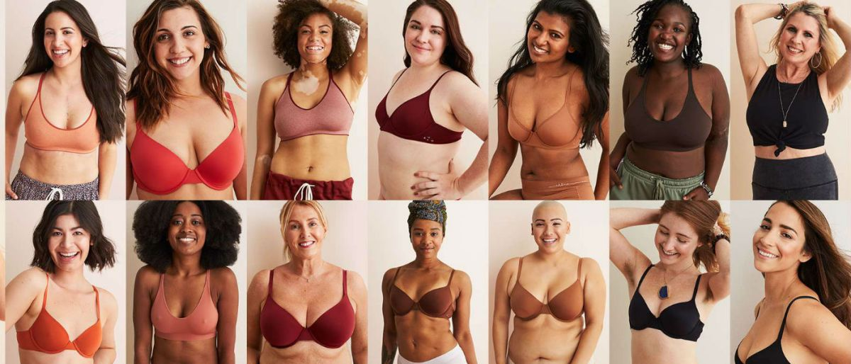 "Aerie - ""Bras make you feel real good"""