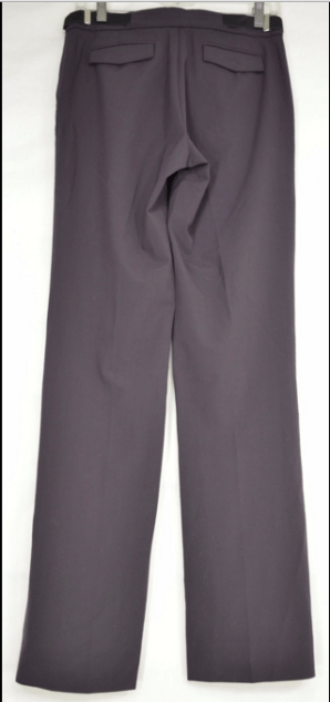 Armani-Exchange-pants-chic-professional-office-brown-flap-back-pockets-SZ-4-_162008256548[b]