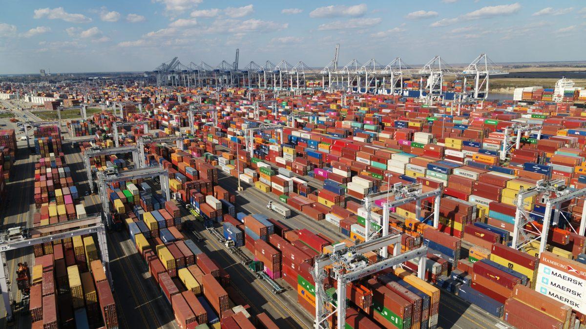 Garden City terminal Georgia Ports