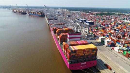 14,000 TEU vessel Georgia Ports