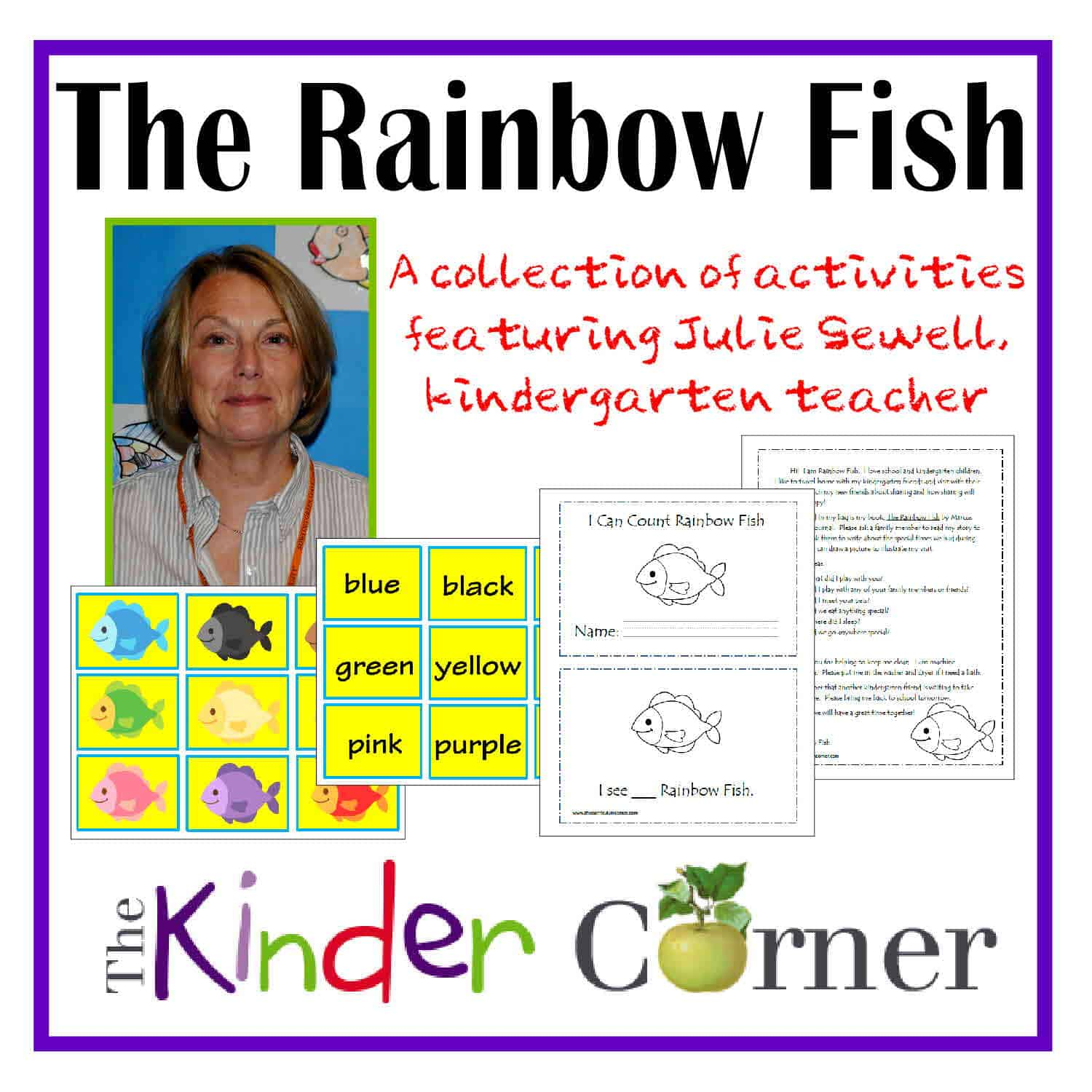 Julie Sewell Uses Rainbow Fish In Her Kindergarten