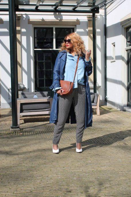 Zizzi fashion printed pants
