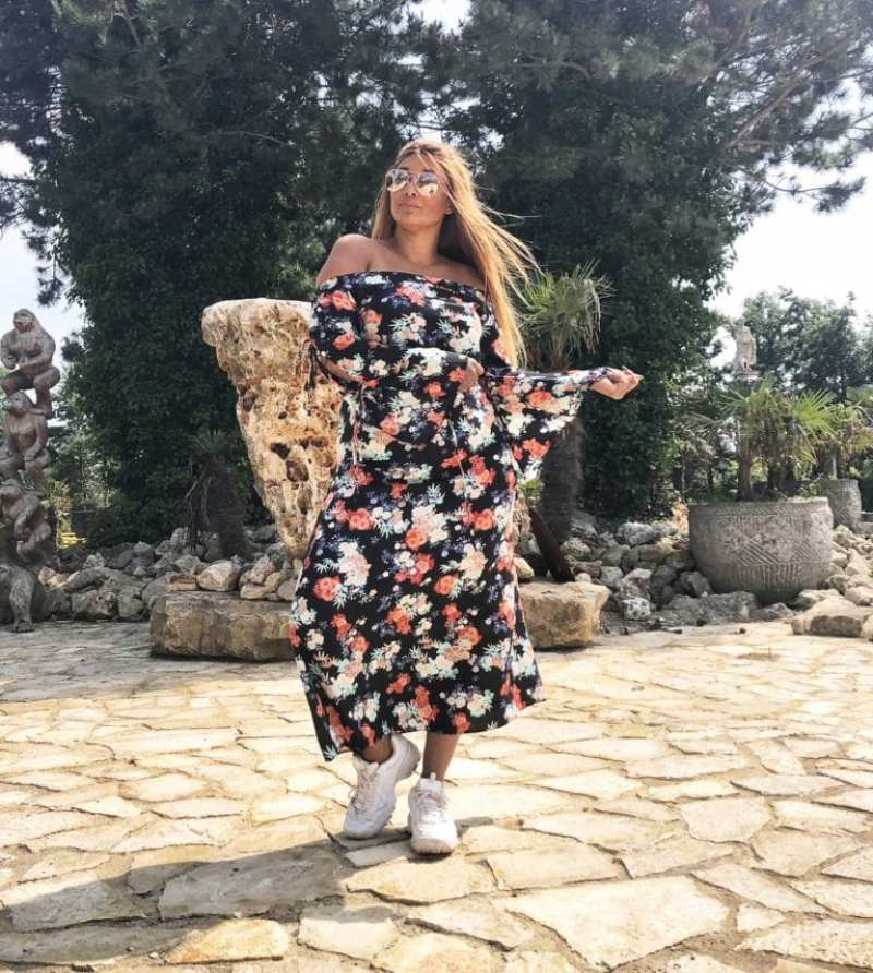 LOVEDROBE FLORAL DRESS
