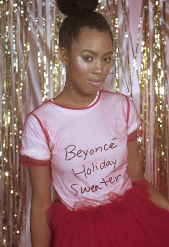 Beyonce lanceert ungly kerst trui