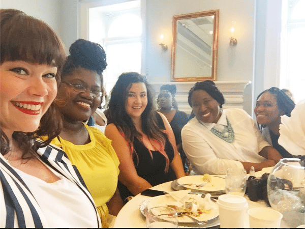 2016 TCFStyle Expo Business of the Plus Size Industry brunch table 1