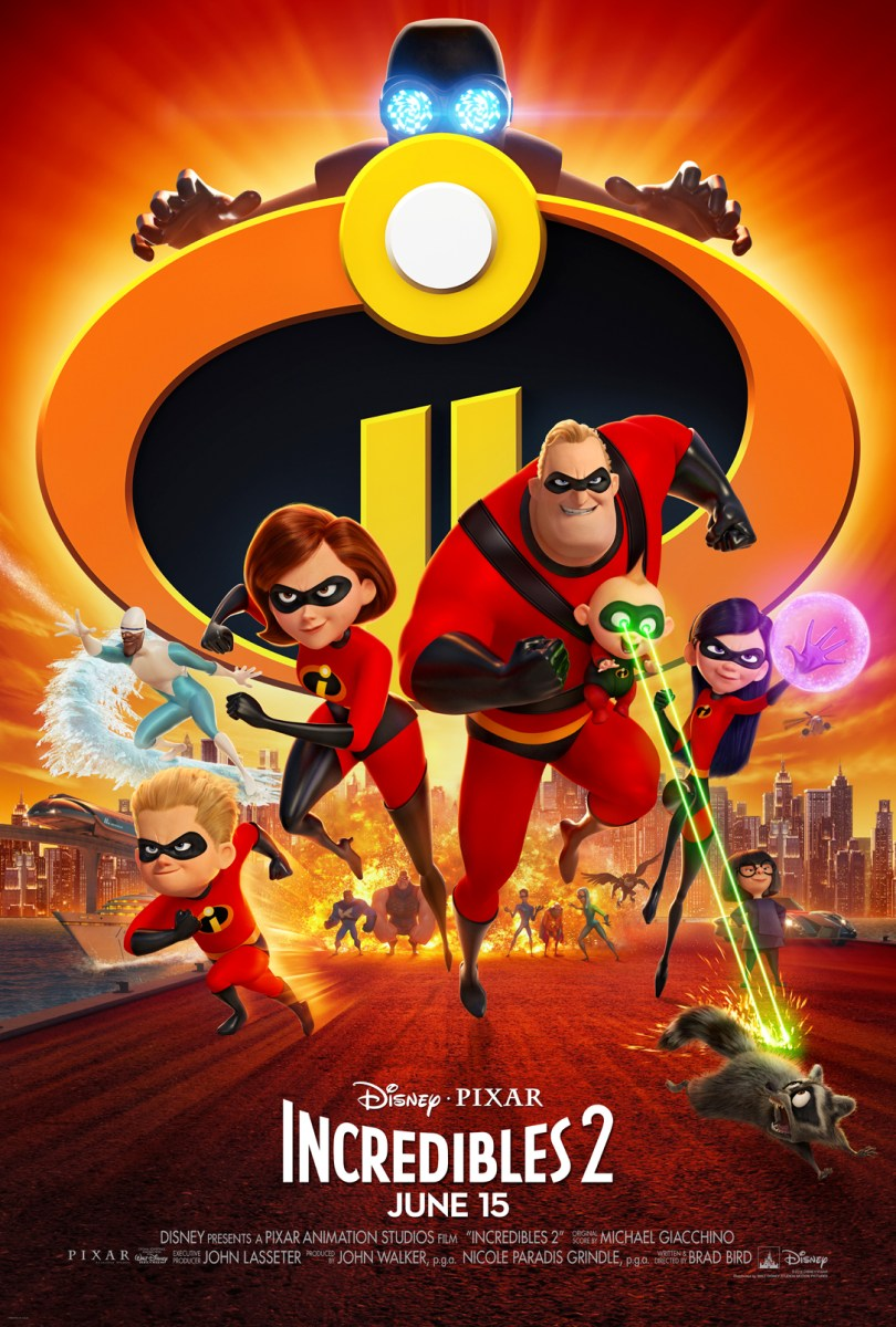 Elastagirl and Jack Jack Steal the Show in Disney*Pixar's Incredibles 2