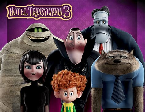 Drac Finds Love in Hotel Transylvania 3:  Summer Vacation