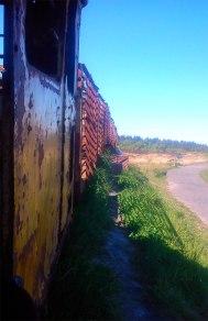 Arty train shot