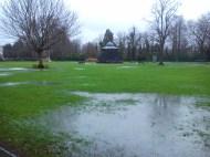 Romsey War Memorial Park - War Memorial & Band Stand