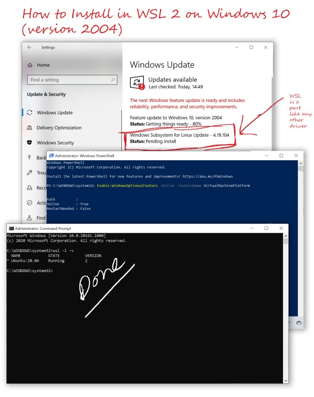 How to Install in WSL 28 on Windows 28 (version 28004)