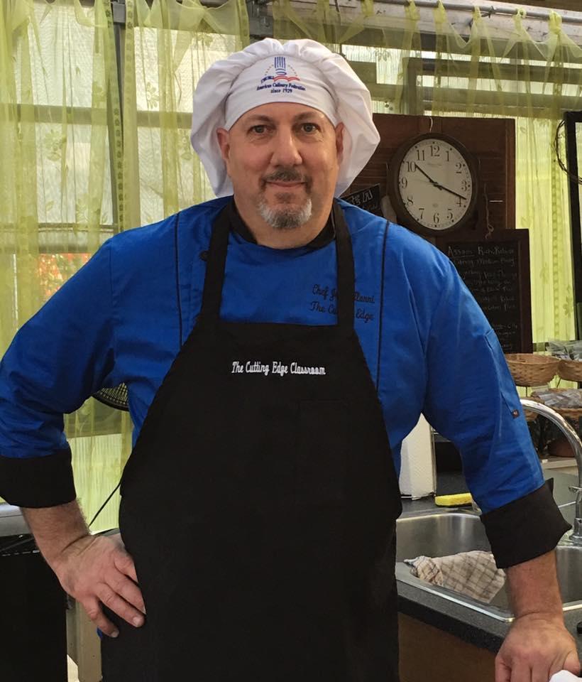 Chef John Alunni, MS
