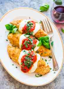 Healthy-Baked-Chicken-Parmesan