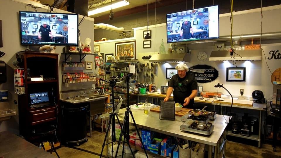 Oversight Systems Virtual Cooking Class 03/31/21