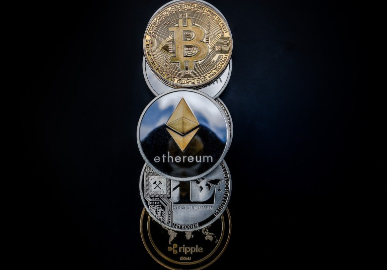 Cryptocurrency - Ethereum Litecoin Bitcoin