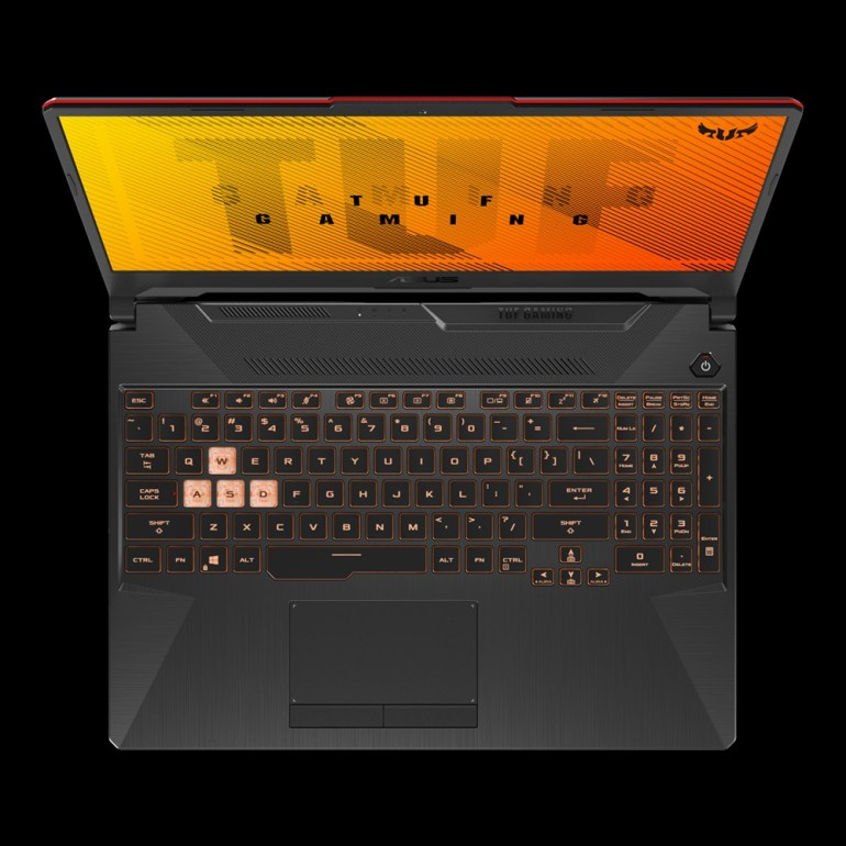 ASUS TUF Gaming F15 a best budget gaming laptop - Keyboard features & design & durability...