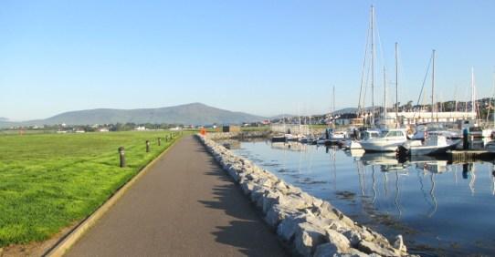 Harbour Wall bike path