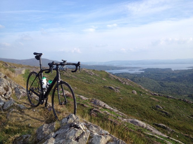 A stay in the Kenmare Bay brought me up the Caha Pass and down the tunnel road