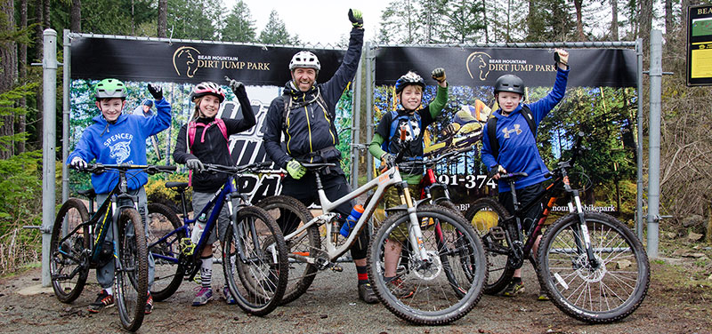 Kids Mountain Bike Programs in Victoria, BC