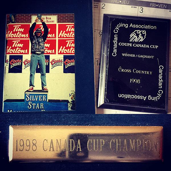 Adam Walker - 1998 Canada Cup XC Mountain Bike Champion