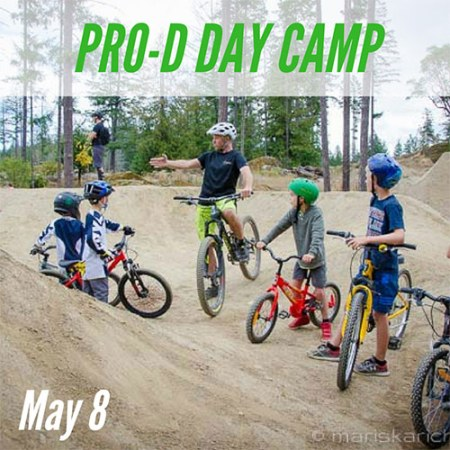 Pro-D Day Mountain Bike Camp - May 8