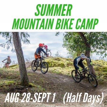 Kids Summer Mountain Bike Camp - August 28 - September 1