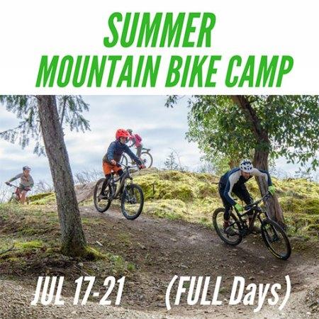 Full Day Summer Mountain Bike Camp - July 17-21