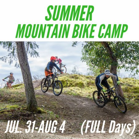 Full Day Mountain Bike Camp - July 31-August 4