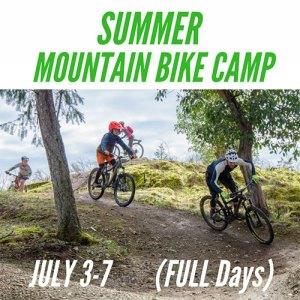 Full Day Summer Mountain Bike Camp - July 3-7