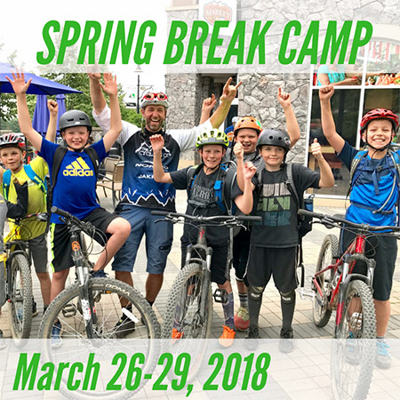 Spring Break Mountain Bike Camp - March 26-29