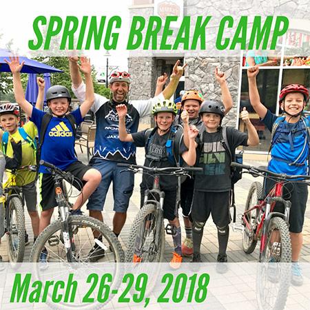 Spring Break Mountain Bike Camp - March 26-29