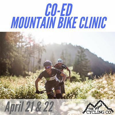 Co-Ed Mountain Bike Clinic April 21&22