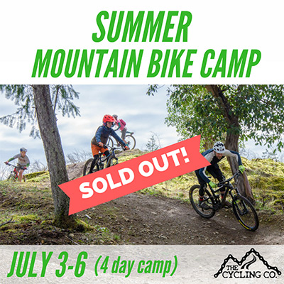 Mountain Bike Camp July3 SOLD OUT