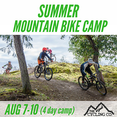 Summer Mountain Bike Camp - August 7-10